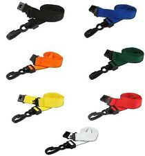 ID Neck Strap Lanyard With ABS Sliding Clip For ID Card Badge Holder - FREE P&P