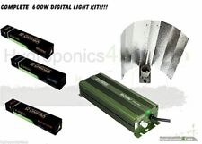 Omega Dimmable 600W Digital Super Lumen Ballast Hydroponic Grow Light Kit HPS MH