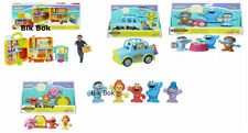 Sesame Street The Furchester Hotel, Monster Tea Room, Monster Shuttle, 5 Figurs