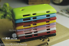Shiny Silicon Soft Back Cover Case For Nokia Lumia 520