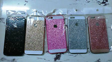 Sparkle Back Cover Case for Apple iPhone Models 4/4S 5/5S 6/6S Multi Color