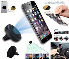 Universal Magnetic Car Mount Air Vent Holder For GPS Sat NAV iPod Mobile Phones