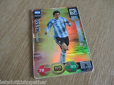 Panini Adrenalyn XL World Cup 2010 South Africa LIONEL MESSI Champion #10 RARE!!
