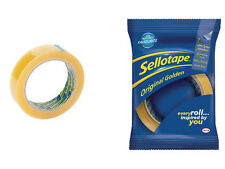 Official Original Golden Sellotape Brand 22mm x 66m