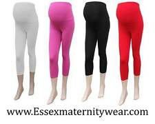 BNWT Cropped Maternity Leggings Size 6 - 18 Black, Red, White & Pink