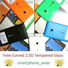 Microsoft Nokia Lumia 535 Replacement Back Door Cover Panel + Free Tempered Glas