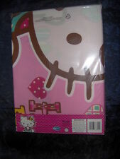 GIRLS SINGLE DUVET SET IN PINK- HELLO KITTY    - With matching pillowcase