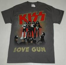 Camiseta Rock Chico OFICIAL KISS -LOVE GUN- Rock Men T-Shirt