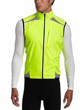 GORE BIKE WEAR Men's Visibility WINDSTOPPER Active Shell Vest neon yellow Small