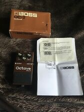 Boss OC-2 Octave Octaver Guitar Bass Synth Effects Pedal Rare Black Japan Label