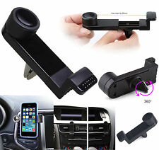 Universal Extendable Car Air Vent Clip Cradle Mount Holder For Mobile Phones UK