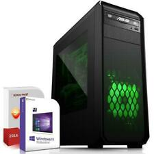 Computer PC Quad Core Intel i7 6700K 8GB RAM 500GB Win 7 /10 Rechner Komplett