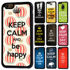 Keep Calm and Carry On Soft Rubber Case Cover For iPhone 7 8 Plus X XR XS 11 Pro