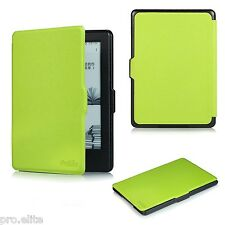 "ProElite Flip case cover for Amazon Kindle E Reader 6"" 8th Generation 2016 Green"