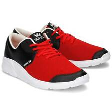 SUPRA NOIZ AN ULTRA LIGHTWEIGHT RUNNING-INFLUENCED SNEAKER RED / BLACK