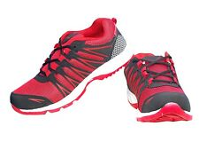 Kacey Men's Red and white  sports shoes (KIS_179)
