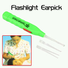 LED Flashlight & Earpick  Curette Cleaner Earwax Remove Set, Xmas Birthday Gift