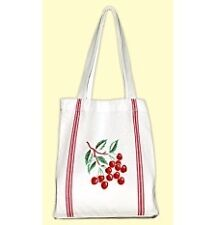 Vintage 1950's style novelty Cherry print Tote Bag