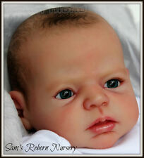 """20"""" UNPAINTED REBORN DOLL KIT, WITH OR WITHOUT DOE SUEDE BODY- """"NOAH"""""""