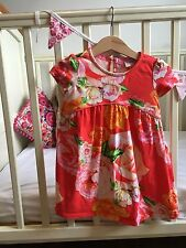 Ted Baker Floral Red Dress 12-18 Months Baby Girl
