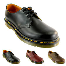 Mens Dr Martens 1461 Classic Vintage Airwair Lace Retro Leather Shoes All Sizes