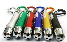 Imported 3 in1 key chain laser pointer/ led torch /Flash UV Light with battery