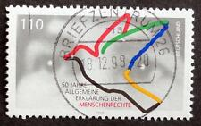 Germany 1998 '50th Anniv of Declaration of Human Rights' SG2880 110pf Used Stamp