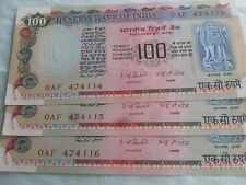 100 rupees note signed by I.J.Patel
