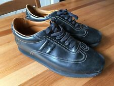 Hermes Shoes - Black Leather Size 42.5