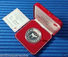 1991 Singapore Mint's Lunar Series $10 Year of the Goat 1 oz Silver Proof Coin