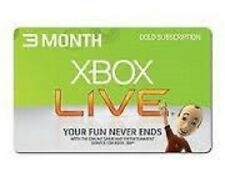 Xbox LIVE 3 Months Gold Subscription Card (POSA Card)