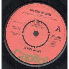 "SAMMY HAGAR You Make Me Crazy 7"" VINYL Demo B/W Reckless (Cl15960) UK Capitol"