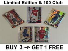Match Attax 16/17 Limited Edition 100 Club Legends 101 2016/2017 2016/17 Hundred