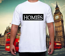 Homies T Shirt Criminal Swag Dope Damage NWA Trill Brother Cocaine Caviar #273