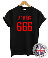 Rob Zombie Camiseta Metal Rock Horror Gótico Punk 666 Camiseta