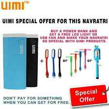 COMBO OFFER UIMI U5 13000 mAh Power Bank for Nokia,Samsung,HTC,Apple,Sony ETC