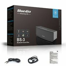 Bluedio BS-3  Portable Bluetooth Wireless Speaker with Super BASS 5hrs Battery