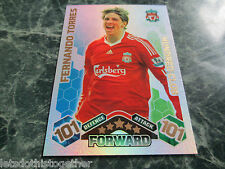 VERY RARE!! MATCH ATTAX 2009-2010 FERNANDO TORRES 101 100 HUNDRED CLUB! CHEAP!!