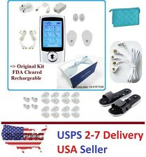 TENS Unit 16 Mode Digital Electro Pulse Massager Therapy Muscle Full Body UVII