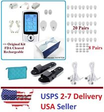 TENS Unit 16 Mode Digital Electro Pulse Massage Therapy Muscle Full Body UXIII