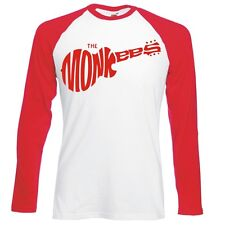 "The Monkees ""Guitarra Logo"" unisex, Raglán, manga larga camiseta de béisbol"
