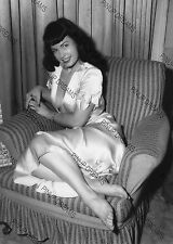 "Bettie Page Burlesque Movie Star Pin-up -set No4 of 5 Photo's 4"" x 6"" or 5"" x 7"""