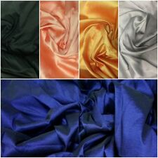 Taffeta Faux Silk Fabric, Bridal Bridesmaid Dress wedding decor drape, 44'' wide