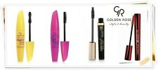 Golden Rose,Mascara with different effects,silicone brush great volume,Deep back