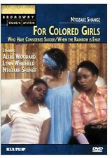 For Colored Girls Who Have Considered Suicide/When the Rainbow  (2002, DVD NEUF)