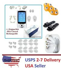 TENS Unit 16 Mode Digital Electro Pulse Massager Therapy Muscle Dual Channel I