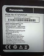 Brand New KTSP2000AA Replacement Mobile Battery for Panasonic T11, T33 Mobile