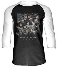 Kiss - Made In The Usa (Raglan) Langärmliges T-Shirt