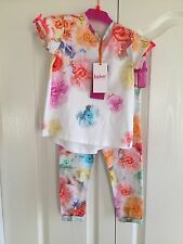 Ted baker girls floral leggings set with sizes. BNWT. Designer