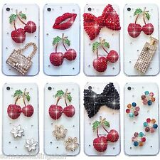 7new Bling Delux pedrería Brillo Bolso Cubierta De La Caja Apple iPhone 6 6s
